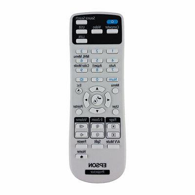 New OEM Epson PowerLite Projector Remote Control For 640, 74