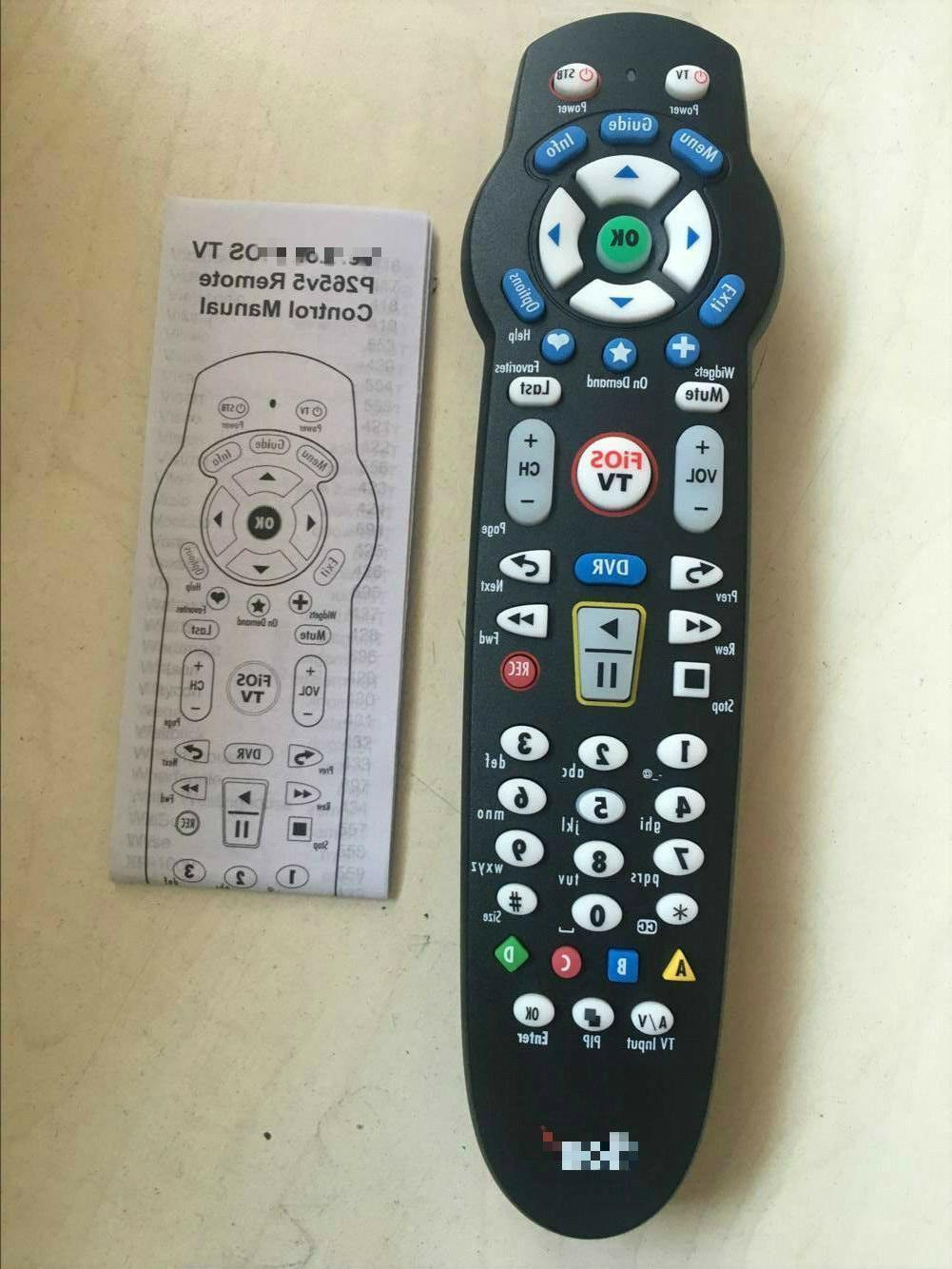 NEW Rc2655008/03B FOR Verizon Fios Tv Vz P265V5