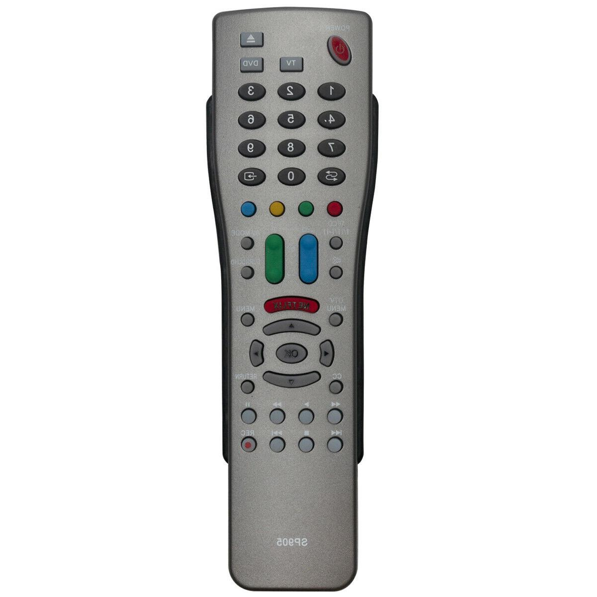 New SP905 Universal Remote Control for Sharp LCD TV DVD Play