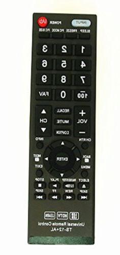 Nettech New Toshiba CT-90325 Universal Remote Control LYSB01