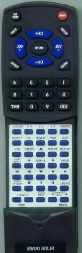 ONKYO Replacement Remote Control for 24140605, TXSR303S, RC6