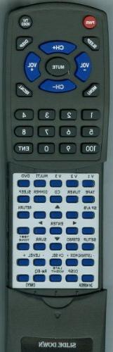 ONKYO Replacement Remote Control for RC650M, HTS990THX, HTR9