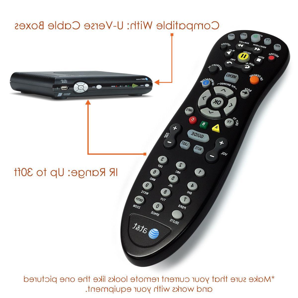Original AT&T Uverse HD TV Remote