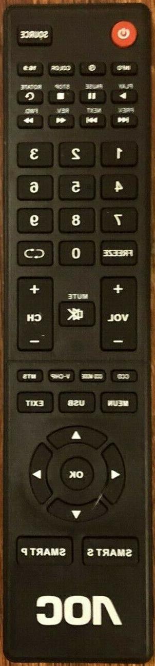 Original New AOC NH400UD TV Remote Control for AOC HDTVs LE3