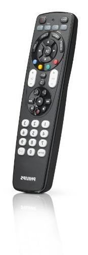 Philips SRP4004/27 Universal 4 In 1 Remote Control for TV,VC