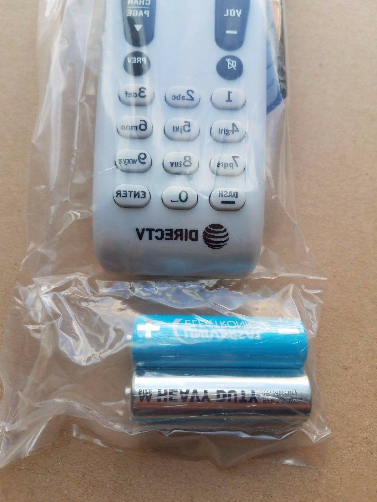 DIRECTV RF Universal Remote Control W/Batteries AT&T all