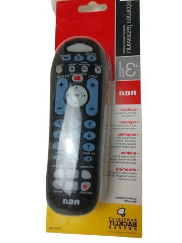 rcr313br universal 3 device remote