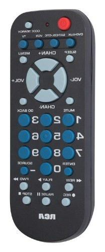RCA 4-Device Palm-Sized Universal Remote