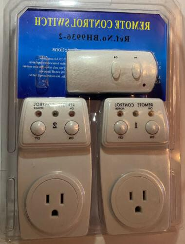 remote control outlet switch bh9936 2 brand