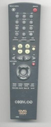 Go Video Remotes for DVD-VCR-TV-Audio-Stereo and or Compact