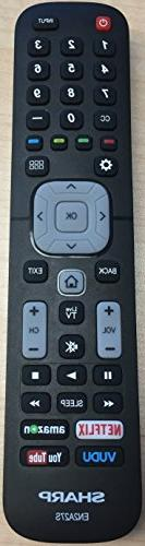 New USARMT Replaced Sharp EN2A27S Smart Remote for Sharp 4K