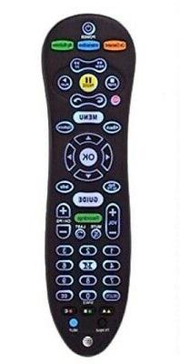 SET OF 2 AT&T U-VERSE S30-S1B UNIVERSAL REMOTE CONTROL BACK