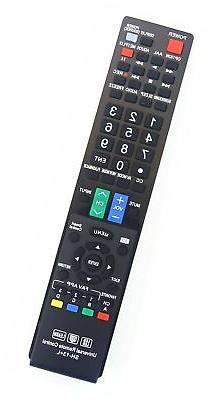 Sharp GB004WJSA Universal Remote Control for All Sharp BRAND