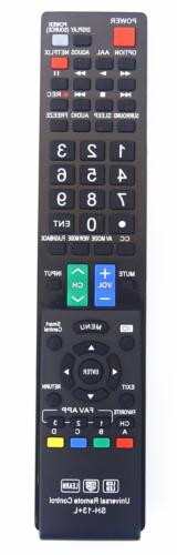Nettech Sharp GB004WJSA Universal Remote Control for All LYS