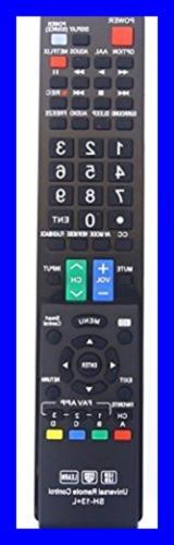 Sharp GB004WJSA Universal Remote Control For All BRAND TV Sm