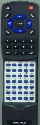 SHARP Replacement Remote Control for XLMP130, RRMCGA038AWSA