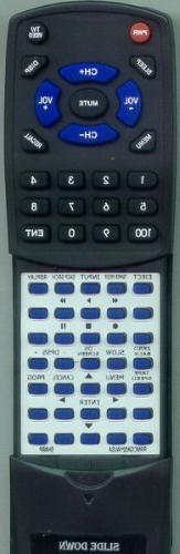 SHARP Replacement Remote Control for GA021WJSA, VCA560U, GA0