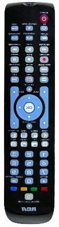 Rca Six Device Learning Universal Remote Control With Macro