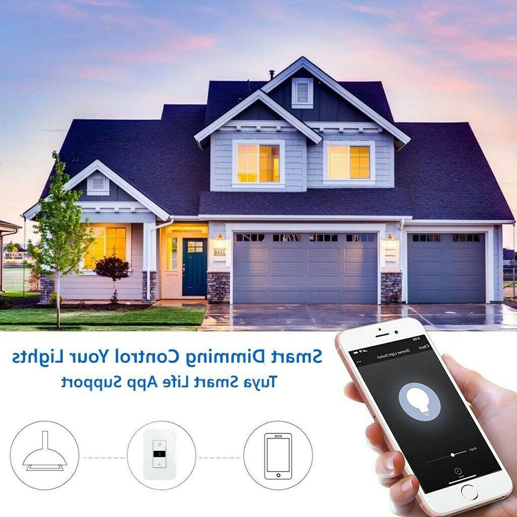 Smart Dimmer Switch WiFi in wall Control Alexa Home