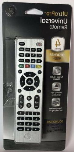 GE UltraPro Universal Remote 4 Device Designer Finish Works