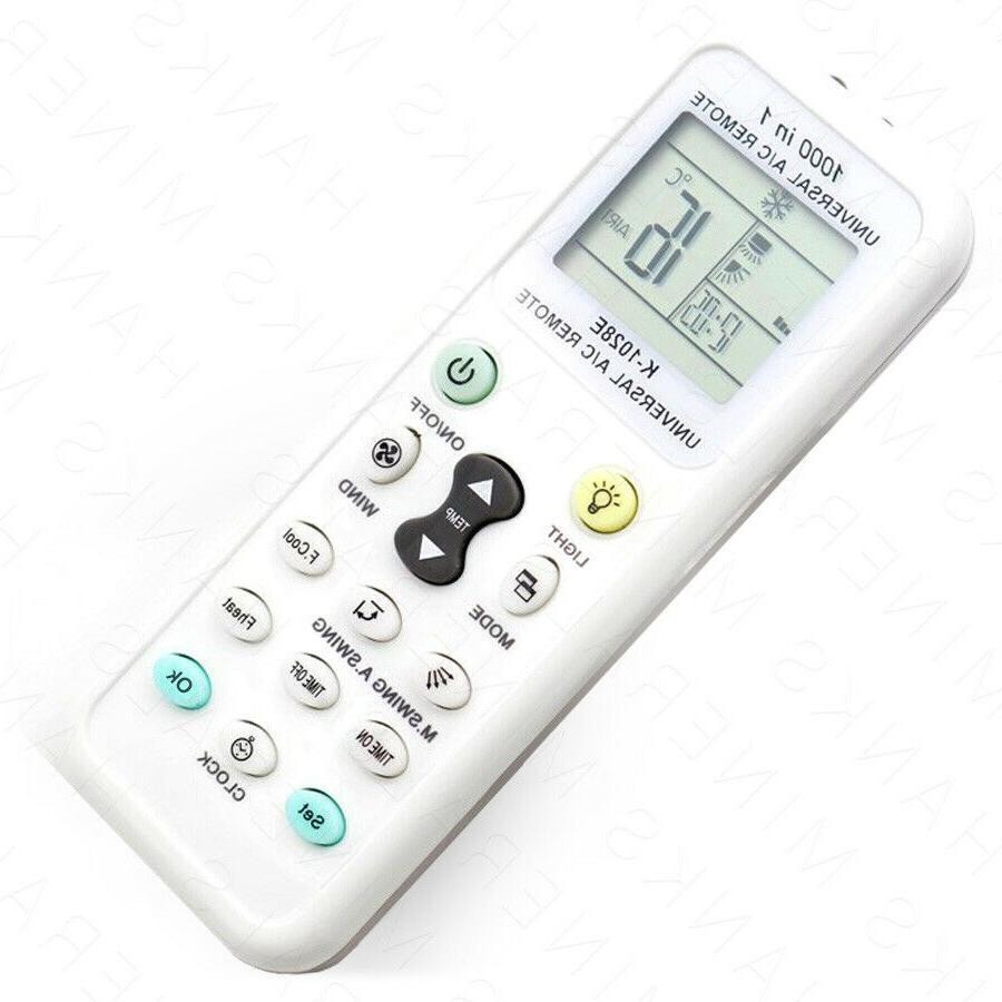 universal a c remote control air conditioner