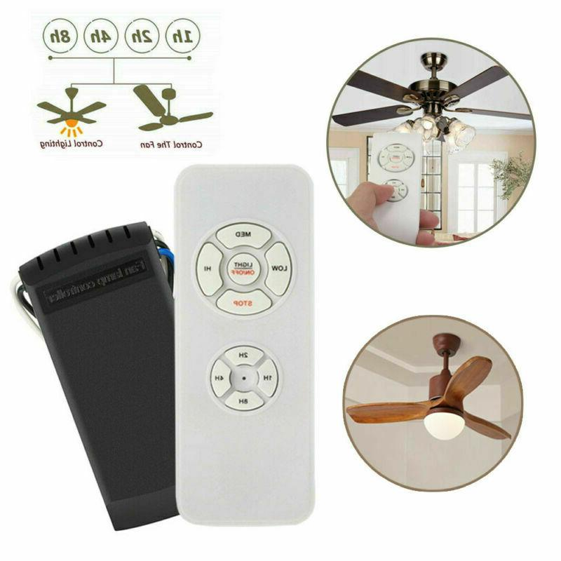 universal ceiling fan lamp timing wireless remote