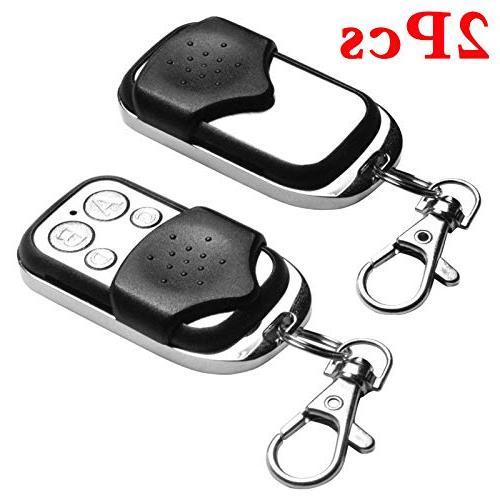 OUYAWEI Garage Electric Gate 2Pcs Cloning Remote Key