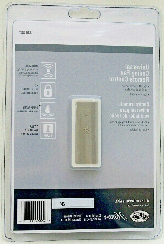 universal fan light remote control