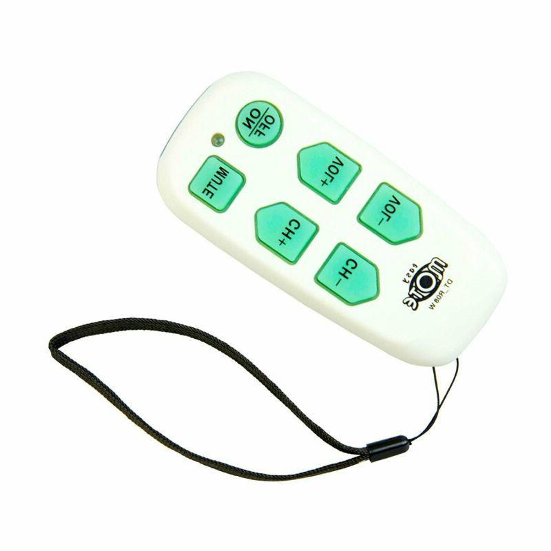 Universal Big Audio  Video Accessories Button Tv Remote - Ea