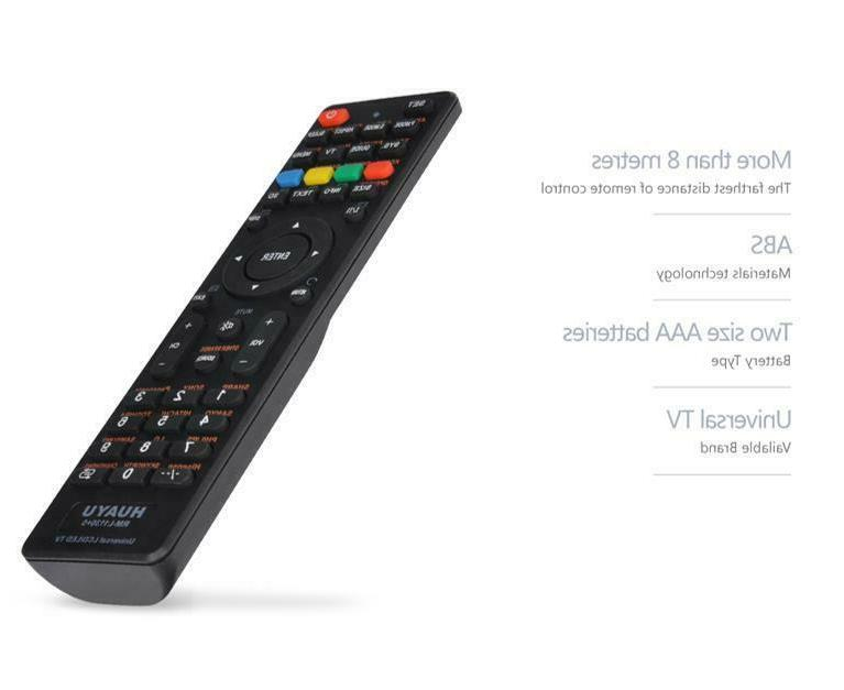 NEW TV Remote Universal LG, Skyworth, SHARP, SONY, US