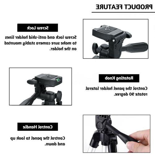 Universal Tripod Stand Holder+Bluetooth for iPhone Samsung