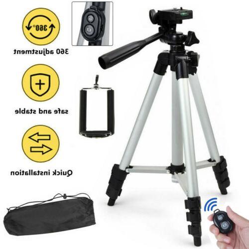 universal phone camera tripod stand holder bluetooth