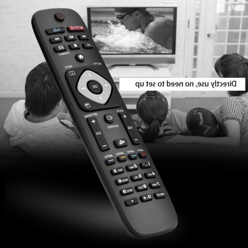 Universal TV Remote Control Replacement For Philips LCD Smar