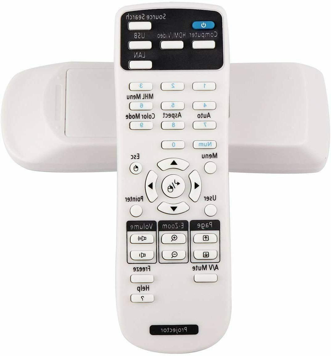 Universal Projector Remote Control for Epson EB-1780W EB-178