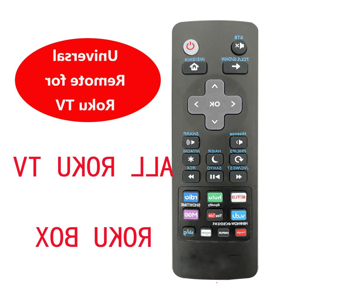 universal remote compatible for roku streaming box