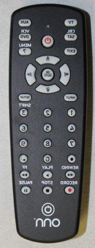 ONN Universal Remote Control 4 Devices for DVD RECEIVER TV C