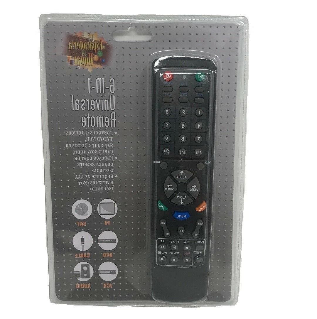 Universal IN DVD VCR Satellite Box Audio