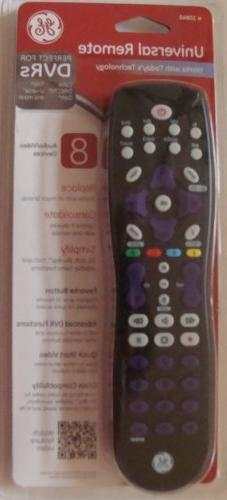 GE Universal Remote Control 8 Audio Video Devices Perfect fo