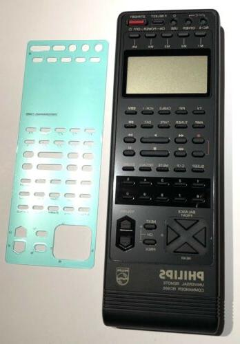 Philips Commander RC980XBK01 Screen Tested