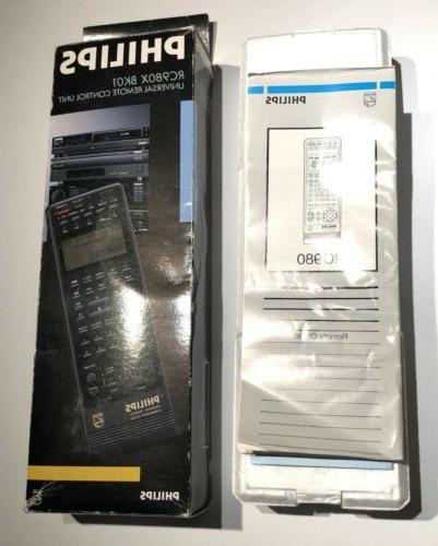 Philips Universal Commander Tested RC980X
