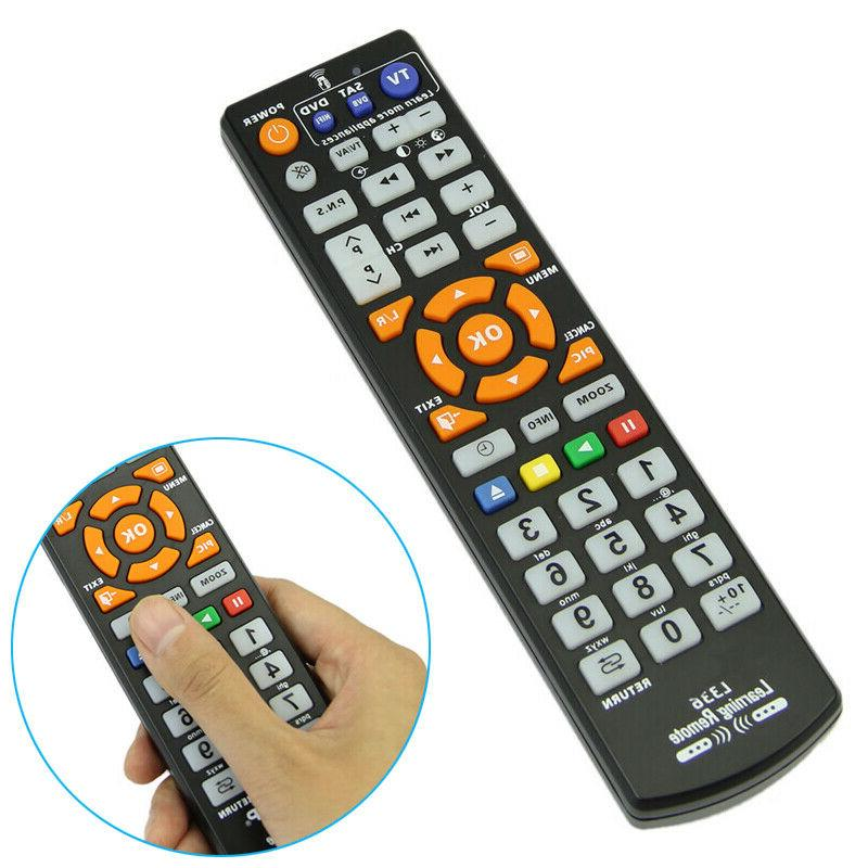 universal remote controller with learn function smart