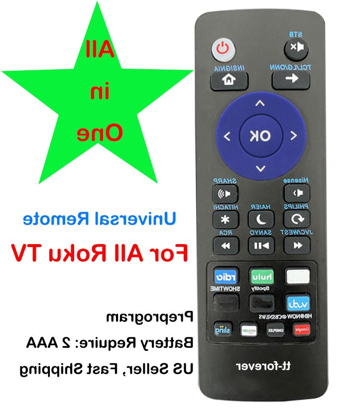 universal remote control fit for insignia roku