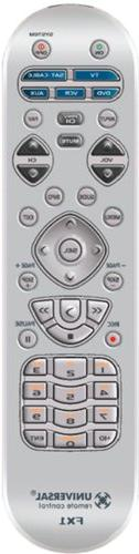 Universal Remote Control FX1 - Preprogrammed Remote replaces