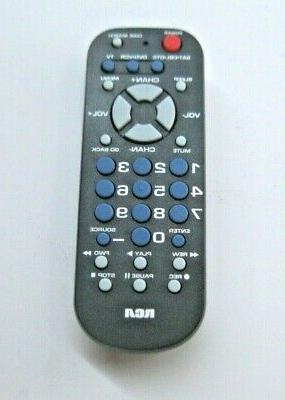 AUDIOVOX Universal Remote Control, Palm Style, 3-Device RCR5
