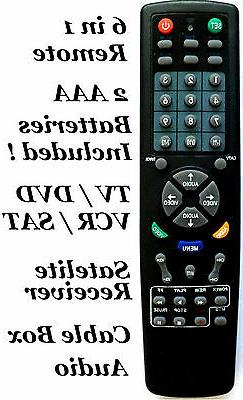 universal remote controller 1 tv
