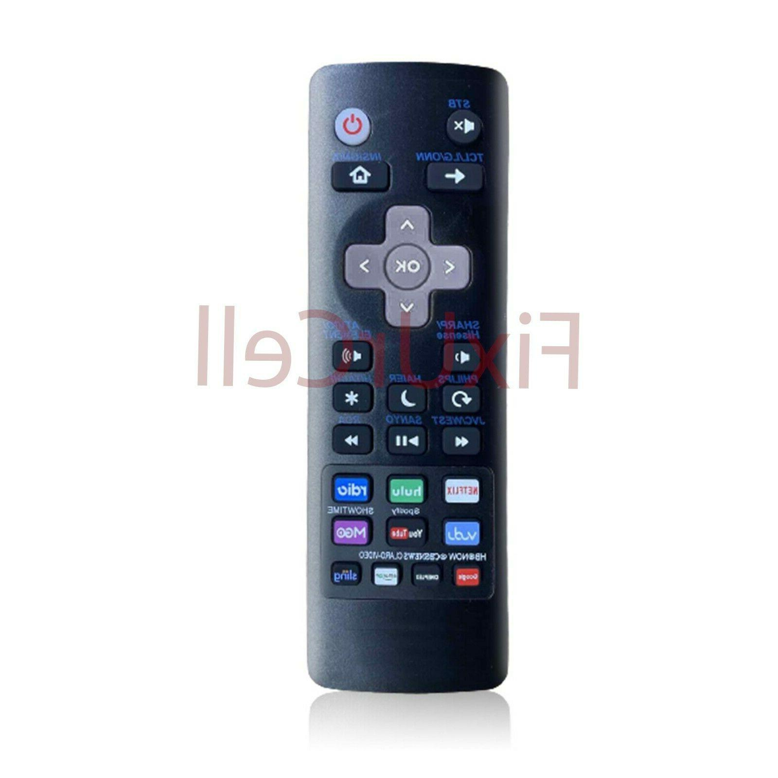 universal remote for roku tv s tcl