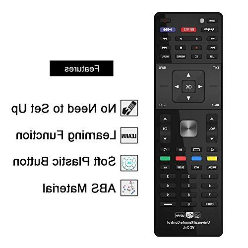 Gvirtue Universal Remote CompatibleReplacement for Series/M Series TV/ 3D/ VR1 VR2 App Hotkeys: MGO, 3D