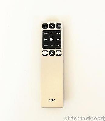 Upgrade Universal VIZIO 2.1 5.1 Sound Bar remote control wor