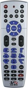 One For All URC 4220 Big Easy 4-Device Universal Remote Cont
