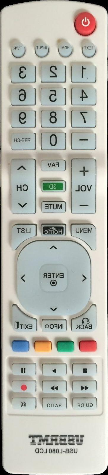 New USB Remote for RC7010Q for TV -